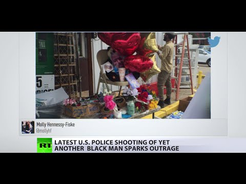 US Shootings: 2 black men killed by police spark outrage