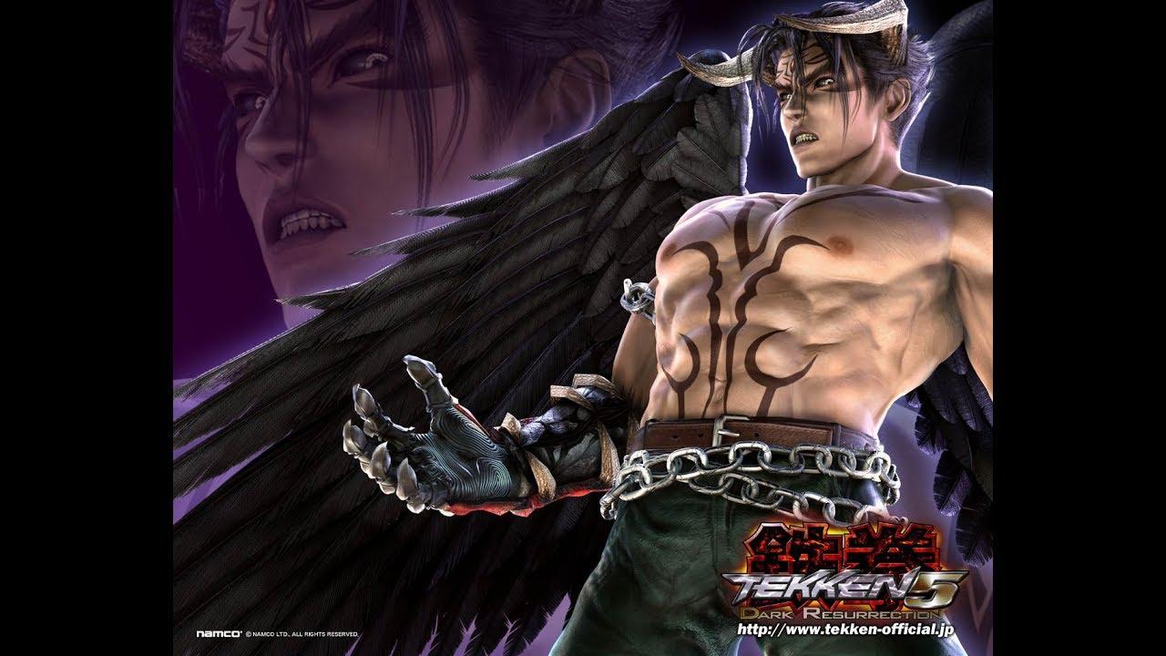Tekken Dark Resurrection Psp Playthrough Story Mode With Devil