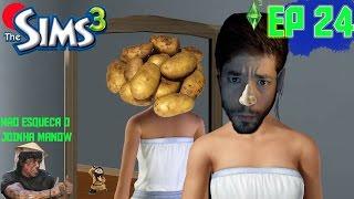 """The Sims 3 - Temporada 1 Episódio 24 Série ao Vivo - """"Made in china, O Túmulo, Filho Invisivel"""""""