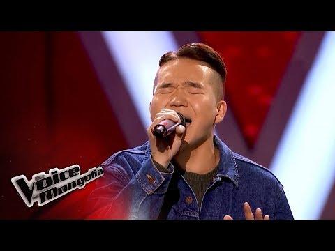 "Bilguun.B- ""Lost Stars"" - Blind Audition - The Voice of Mongolia 2018"