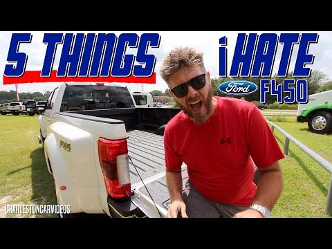 🔵 5 Things I Hate about the 2019 Ford F450 Lariat!!!