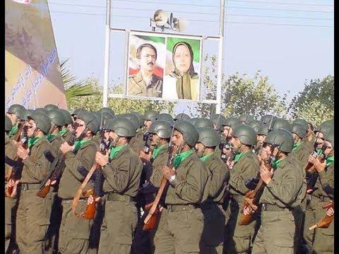 Vicious MEK Terrorists leading Iran Protests
