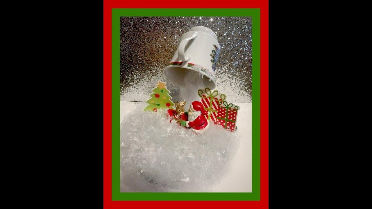 Christmas Floating Tea Cups.Floating Tea Cup Project Christmas Theme Diy
