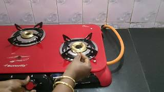 Unboxing Butterfly Signature Glasstop Gas stove