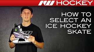 How to Select an Ice Hockey Skate