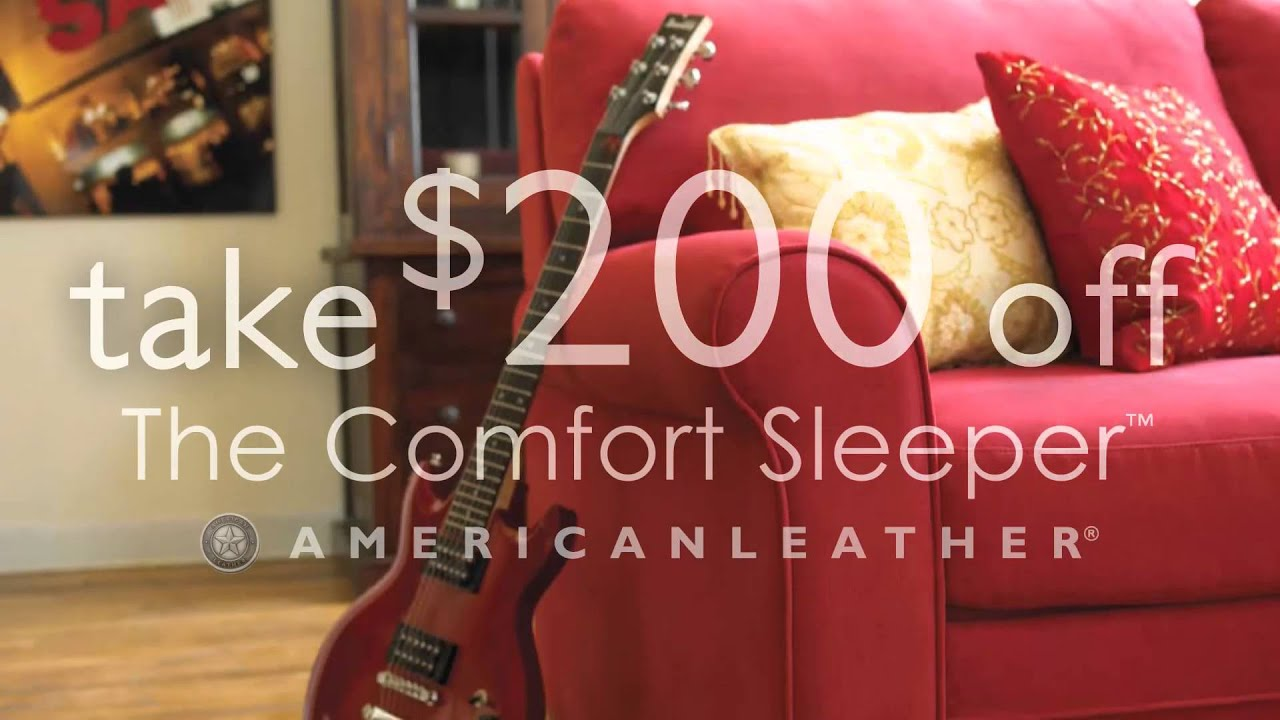 Kitchen Kaboodle Furniture American Leather Sleeper Sofa Sale At Kitchen Kaboodle Youtube