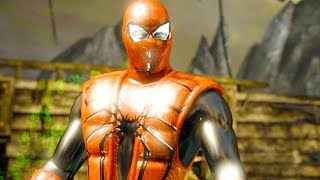 Mortal Kombat XL - Iron Spider Ermac Costume Skin PC Mod Performs Intros On All Stages 4K Mods