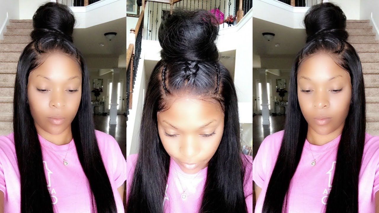 How To Wig Tutorial Quick Amp Easy Updo Style For 360 Lace