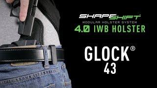 Best Glock 43 IWB Holster for Concealment - Alien Gear Holsters