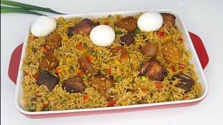 How to Cook Ayamase Jollof  Delicious Designer Rice Recipe! #ayamasejollof