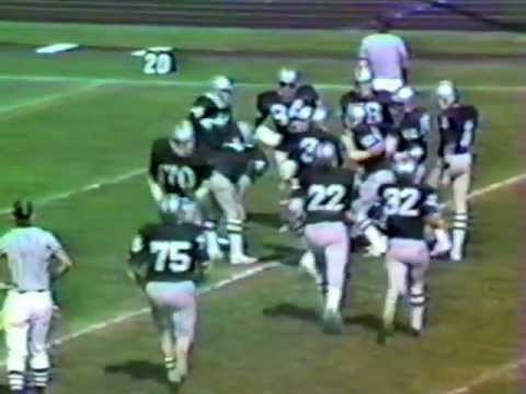 Oceanside, NY vs Berner HS Football 1982 Part 2 of 5