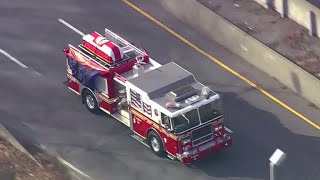 Funeral procession for NYC firefighter and father of four