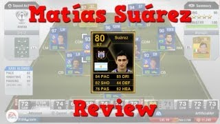 FIFA 13 | 80 Inform Matías Suárez Review | In Game Stats + Gameplay HD