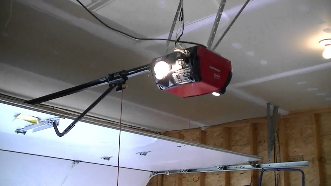 Craftsman Die Hard Garage Door Opener Update Youtube