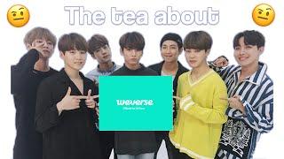 Baixar the tea about bts' weverse