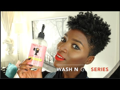 Wash N Go Series On A Tapered Cut Curlmaker Abis Hair Nl Youtube