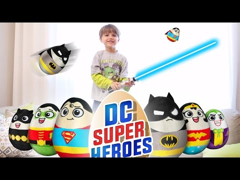 Bat Man and Superman DC Comics Toys Attack