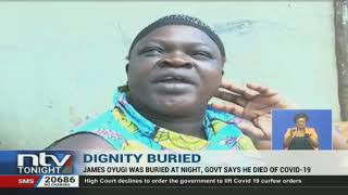 Family Of The Late James Oyugi Wants Kin's Body Exhumed, Autopsy Conducted