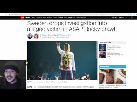 Sweden is Creepy And Trump Needs To get A$AP Rocky Out Of there