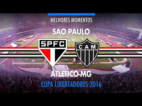 Melhores Momentos - São Paulo 1 x 0 Atlético-MG - Libertadores - 11/05/2016 - Globo HD