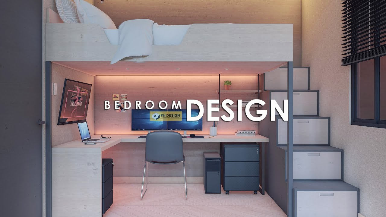 LOFT BED WITH GAMING ROOM SETUP | 2.0m x 3.0m (6.0 sqm)
