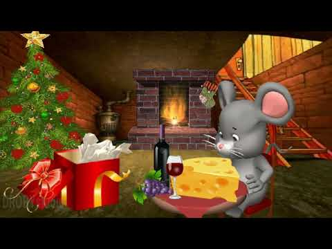 С наступающим Новым 2020  Годом! Прикольная новогодняя открытка.Год крысы, мыши.Happy New Year!