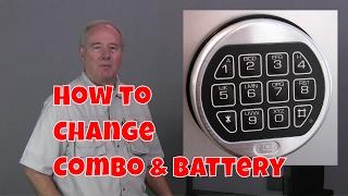 LA GARD LG  Basic digital electronic safe lock changing combo and battery