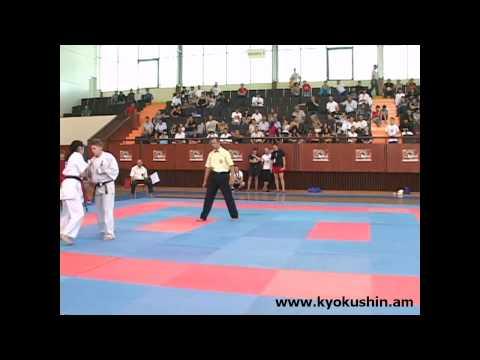 Чемпионат Европы по Кекусин каратэ, Ереван