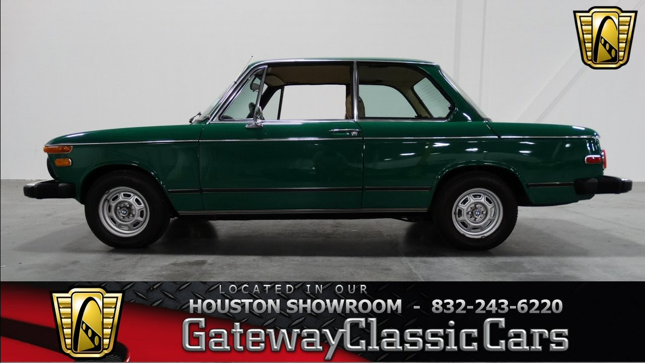 1976 BMW 2002 #206 - Gateway Classic Cars of Houston - YouTube