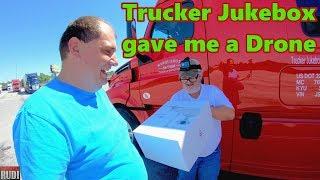 Trucker Jukebox gave me a Drone and a bad wreck on I 75 S Trucker Rudi 07-08-18 Vlog#1464