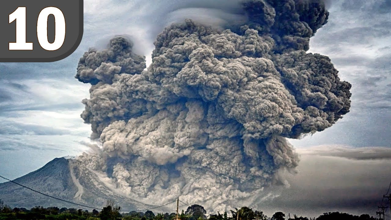 Top 10 BIGGEST Volcanic Eruptions