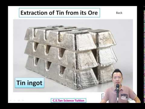 F3C4 Video9 Extraction of Tin from its Ore