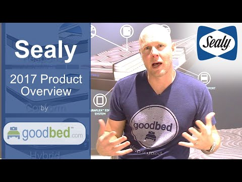Sealy + Posturepedic Mattress Options EXPLAINED By GoodBed.com
