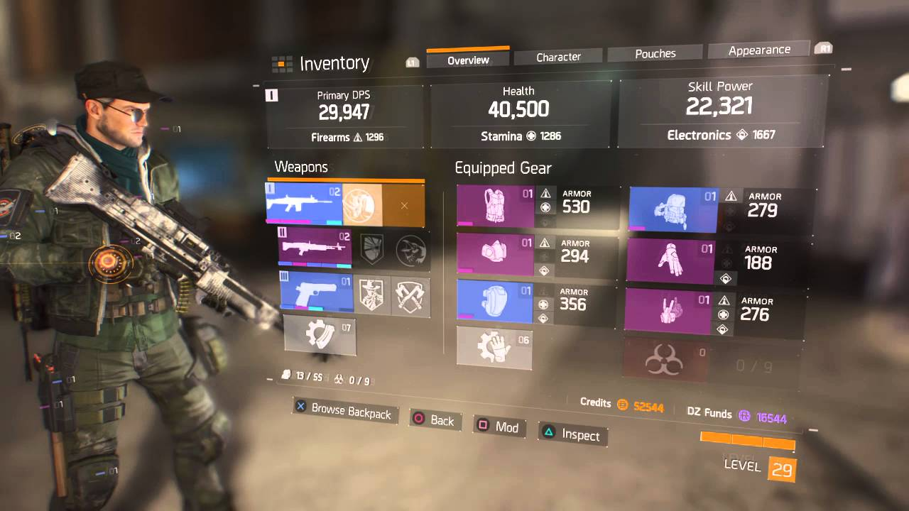 Tom Clancy S The Division Tank Build