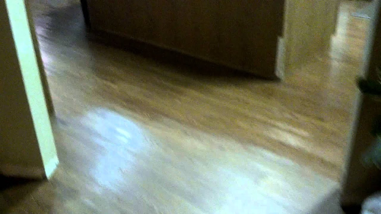 Self Adhesive Luxury Vinyl Plank Flooring Diy Youtube