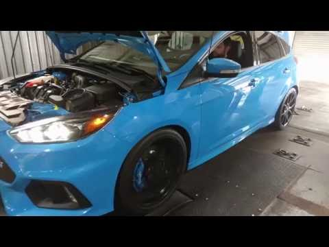 2016 Ford Focus RS -Stock Chassis Dyno Testing