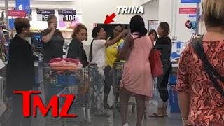 Trina Says Walmart Shopper Called Her 'N***** Bitch' | TMZ