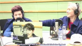 [Eng Subbed] 140313 Sukira Woohyun call out to Infinite