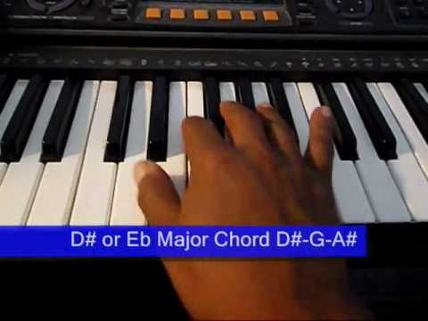 Online Piano Lesson 10: D# or Eb Major Scale & Chord
