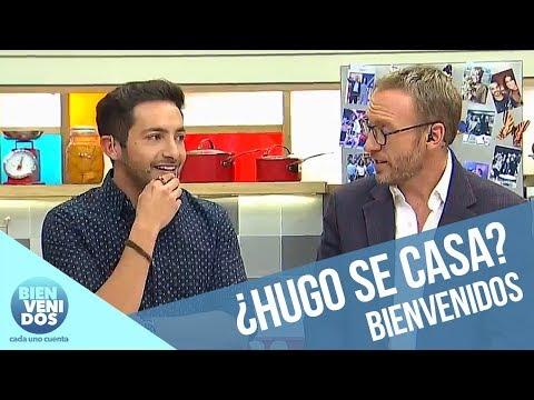 ¿Por qué Hugo Valencia llegó con anillo? | Bienvenidos