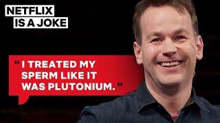 Mike Birbiglia Had To Ejaculate Into Tupperware | Netflix Is A Joke