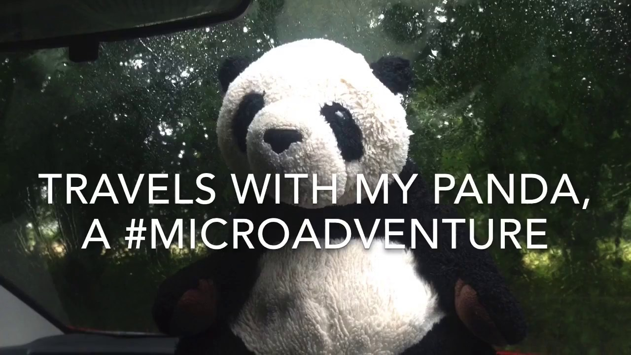 Travels with my Panda - a #microadventure