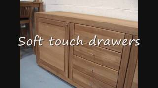 Latvia Large Oak Sideboard