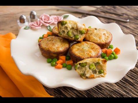 دجاج مشوي بصوص المستردة  + مافن الدجاج بالخضار - برنامج الكوكو ج1