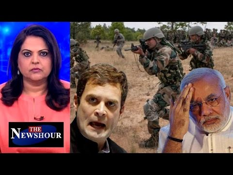 Surgical Strikes Have Led To More Terror Attacks Says Rahul Gandhi: The Newshour Debate (2nd Dec)