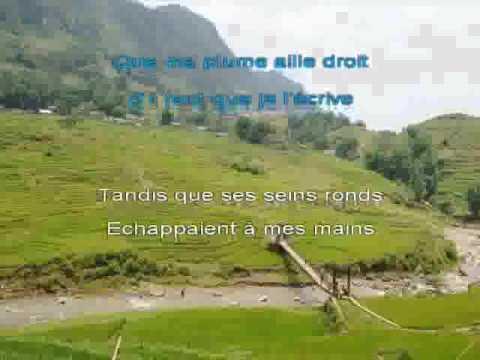 Blanche   Pierre Perret [KARAOKE]