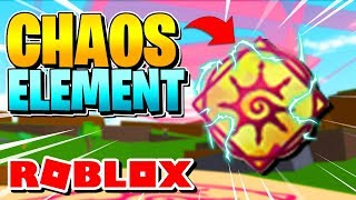 ROBLOX ELEMENTAL BATTLEGROUNDS: CHAOS ELEMENT ADDED [SHOWCASE]