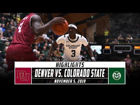 Colorado State Vs. Denver Basketball Highlights (2019-20) | Stadium