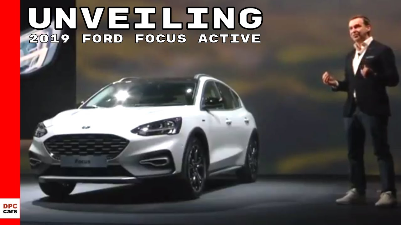 2019 Ford Focus Active Unveiling