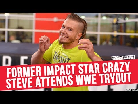 Former IMPACT Wrestling Start Crazzy Steve Attends WWE Tryout